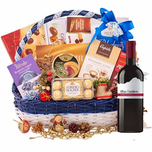 Sophisticated Gourmet Abundance Gift Basket<br>