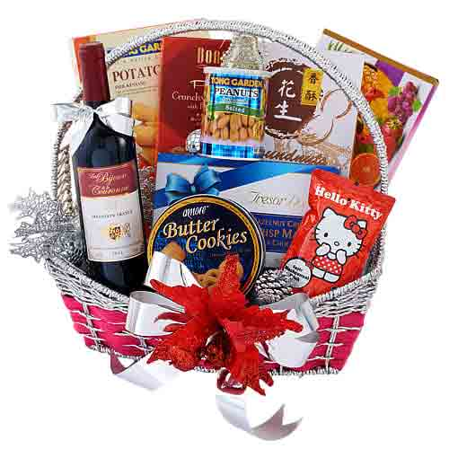 Provocative Spice Of Life Gift Basket<br>
