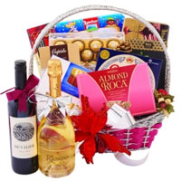 Remarkable Healthy Treats Gift Basket<br>