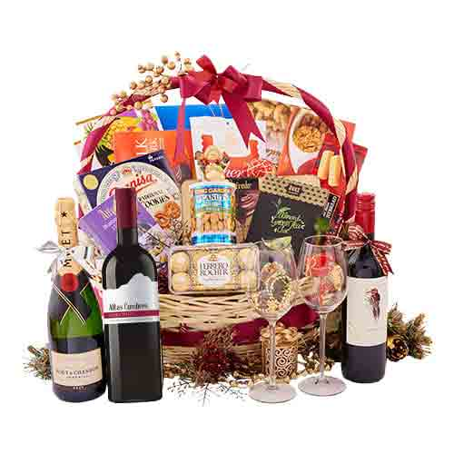 Attractive Premium Office Share Gift Basket<br>