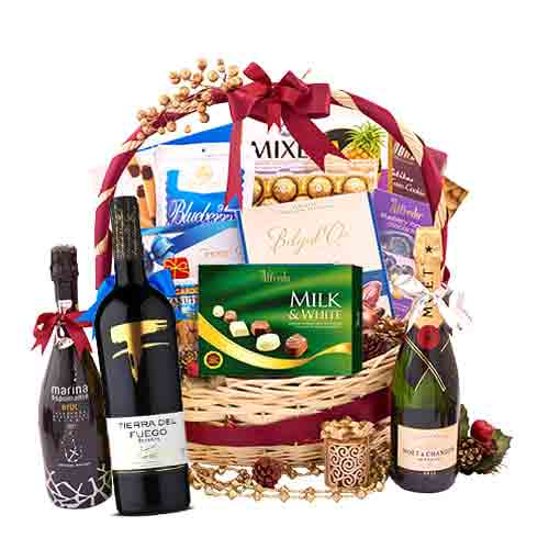 Dazzling Ultimate Celebration Gift Basket<br>