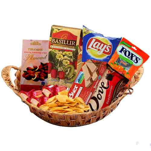 My White Christmas Basket