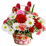 Radiant Collection of Seasonal Flowers for Someone Special on the Occasion of Valentines Day